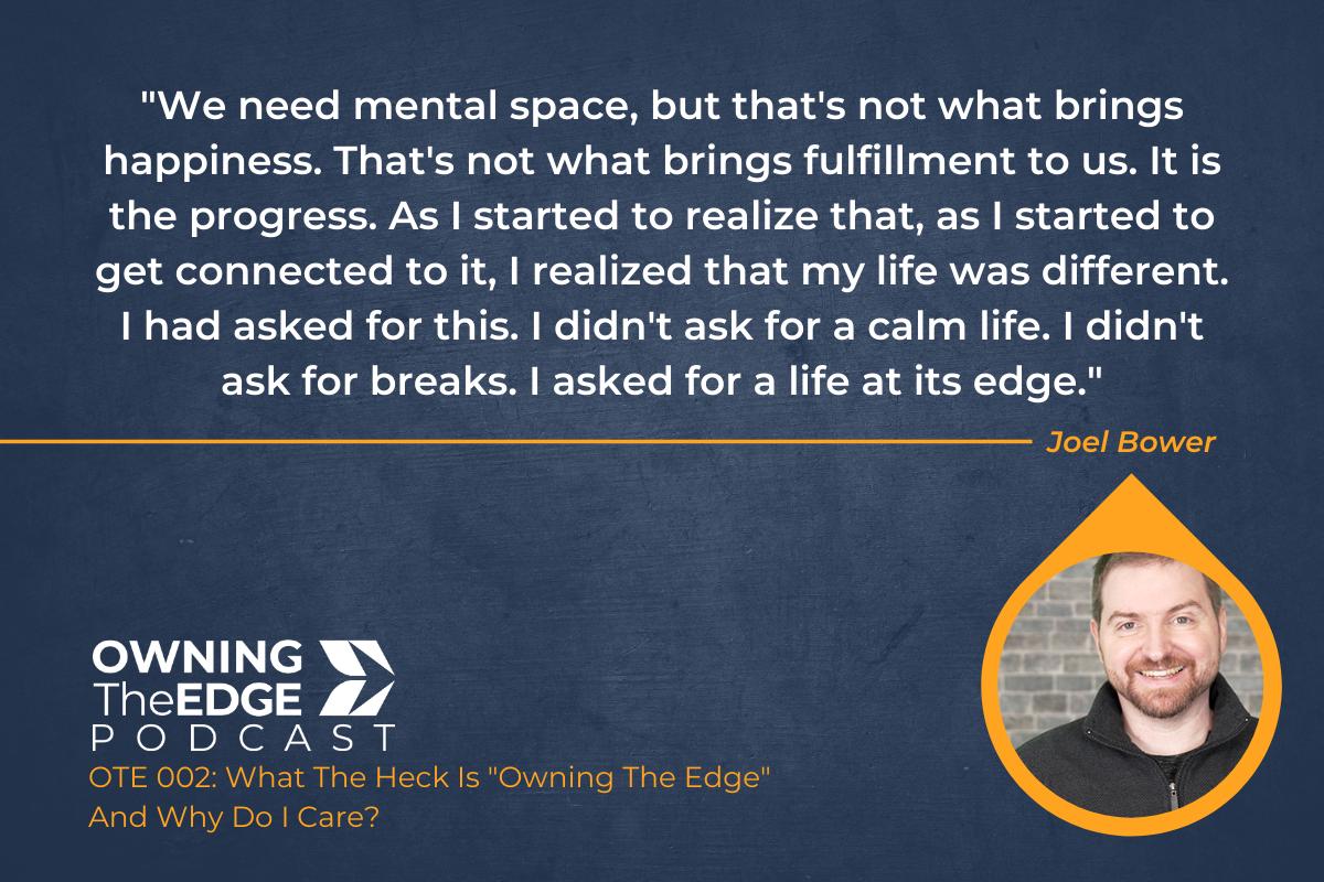 Owning The Edge For Entrepreneur Mindset