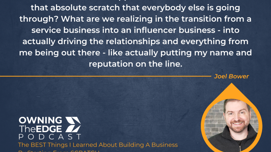 Building a Business from Scratch