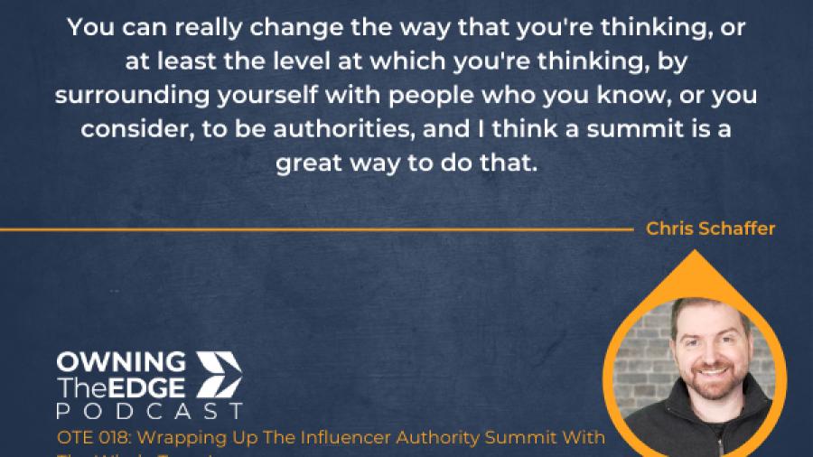 Influencer Authority Summit