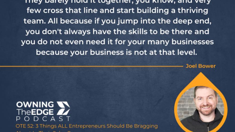 selling to entrepreneurs