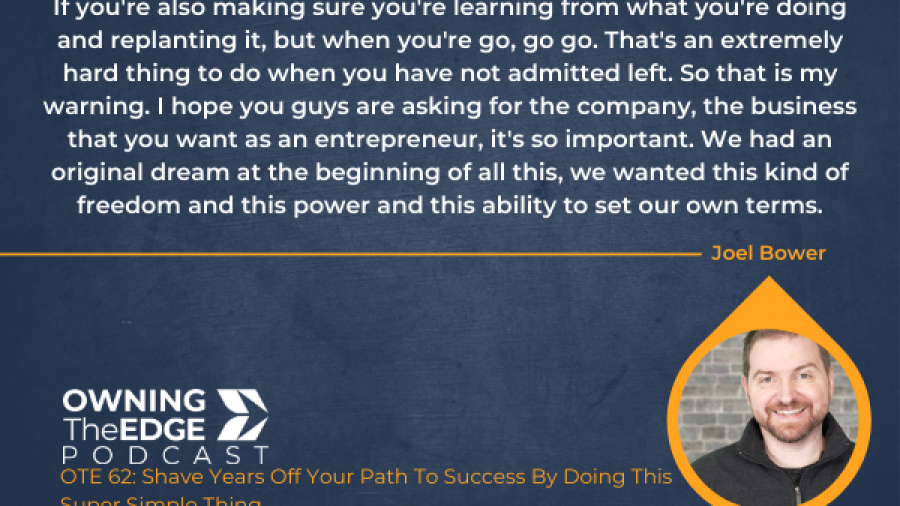 the path to success right now