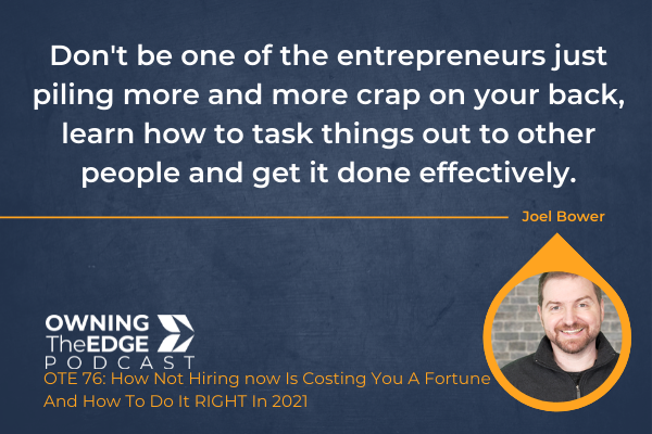 the cost of not hiring for your business